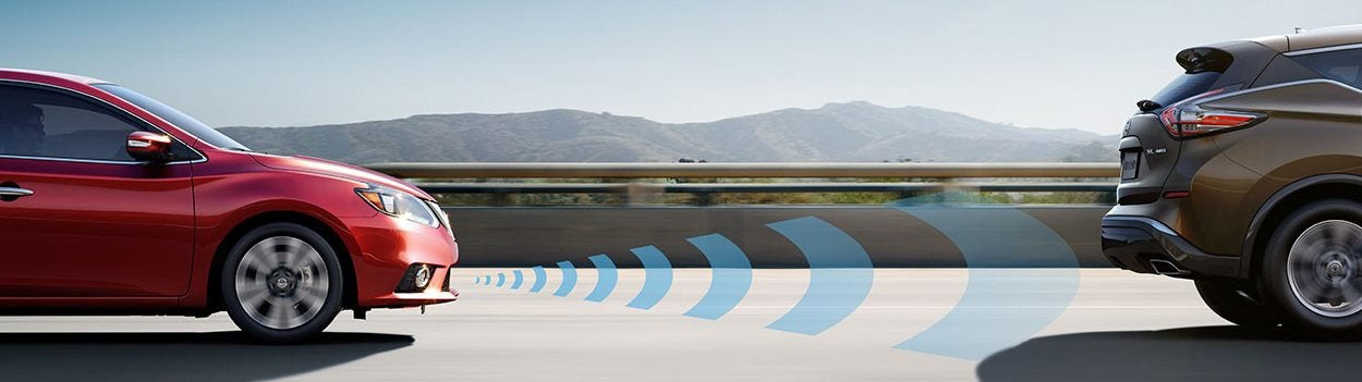 Nissan Intelligent Safety Shield® Technologies are on Nissan